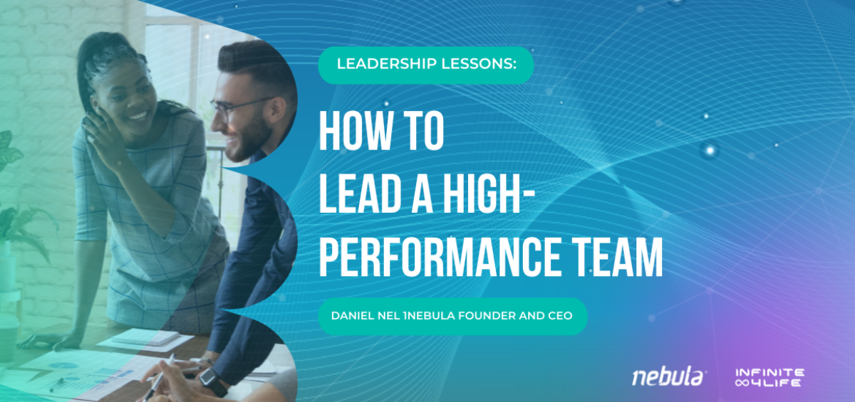 How to lead a high performance team
